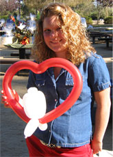 A Balloon Artist design for your sweetheart!
