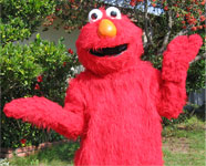 Clowns and Costumed Characters presents Elmo