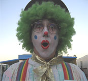 Slim Jim the Clown from San Luis Obispo, CA